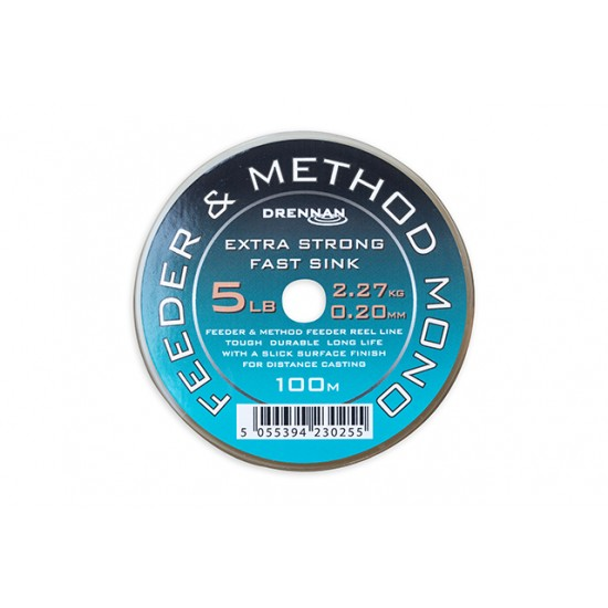 Drennan Feeder and Method Mono 250m - Fir Monofilament Scufundator 0.181mm