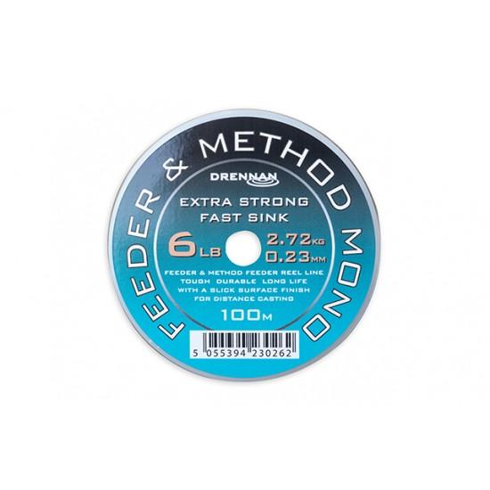 Drennan Feeder and Method Mono 250m - Fir Monofilament Scufundator 0.234mm