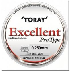 Fir Fluorocarbon TORAY Excellent   0.259 mm