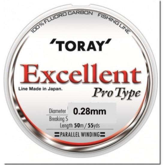 Fir Fluorocarbon TORAY EXCELLENT 0.28mm