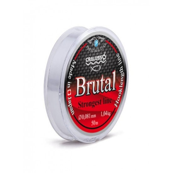 Cralusso Fir Monofilament Forfac Brutal 0.10mm