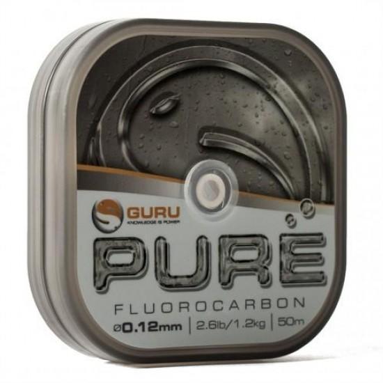 Guru Pulse Pure Fluorocarbon 0.12mm