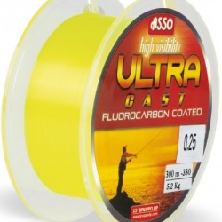Asso Ultracast Galben Fluo 0.24mm / 300m