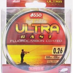 Asso Ultracast Verde Fluo 0.24mm / 150m