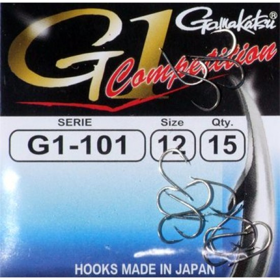 Carlige Gamakatsu G1-101 Competition Nr.12