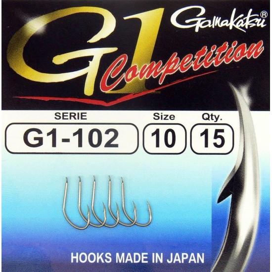 Carlige Gamakatsu G1-102 Competition Nr.10
