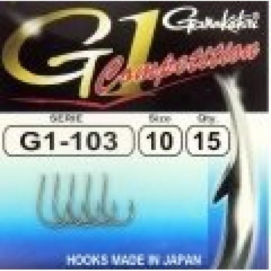 Carlige Gamakatsu G1-103 Competition Nr.10