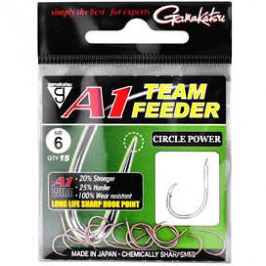 Carlige Gamakatsu A1 Team Feeder Circle Power Nr.10