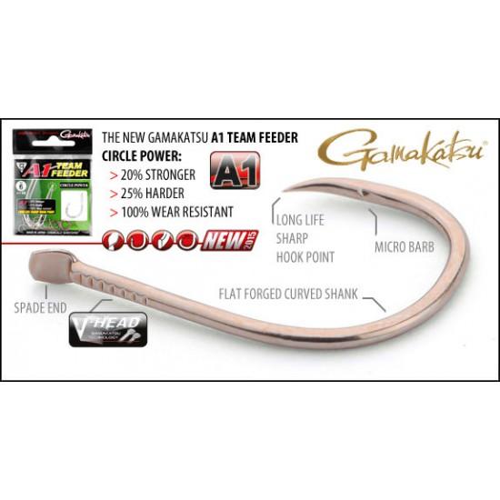 Carlige Gamakatsu A1 Team Feeder Circle Power Nr.14