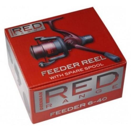 Mulineta Drennan Red Range Feeder Reel 6-40