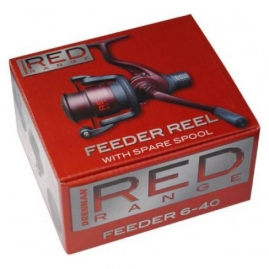 Mulineta Drennan Red Range Float Reel 6-30