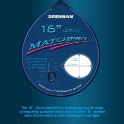"""Cap Minciog Drennan Matchpro  16"""" - 40cm."""