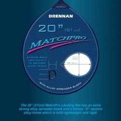 """Cap Minciog Drennan Matchpro  20"""" - 51 cm."""