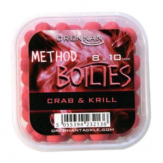 Drennan Method Boilies 8 si 10 mm Crab si Krill
