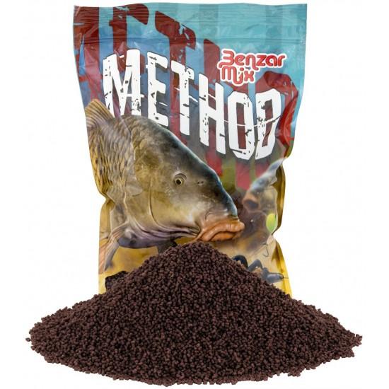 Benzar Mix Method Pellet Black Halibut 800g