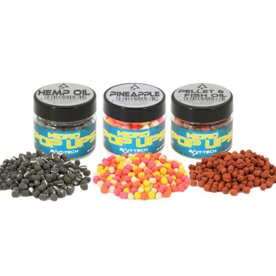 Bait-Tech Pellet & Fish Oil Micro Pop-up