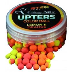 Steg - Popters Pop-Up Color Ball Lemon Orange 7-9mm