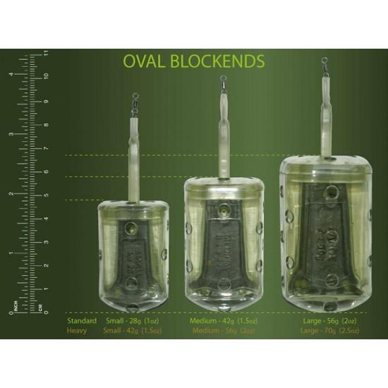 Drennan Oval Blockend M 42gr