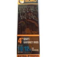 Guru QM1 Nr.10 Hair Rigs With Bait Bayonets