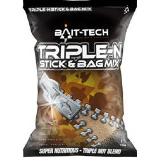 Bait-Tech Triple N Stick & Bag Mix 1kg