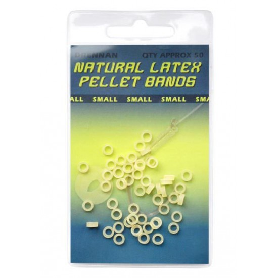 Banda Pelete Drennan Natural Latex Micro 2mm