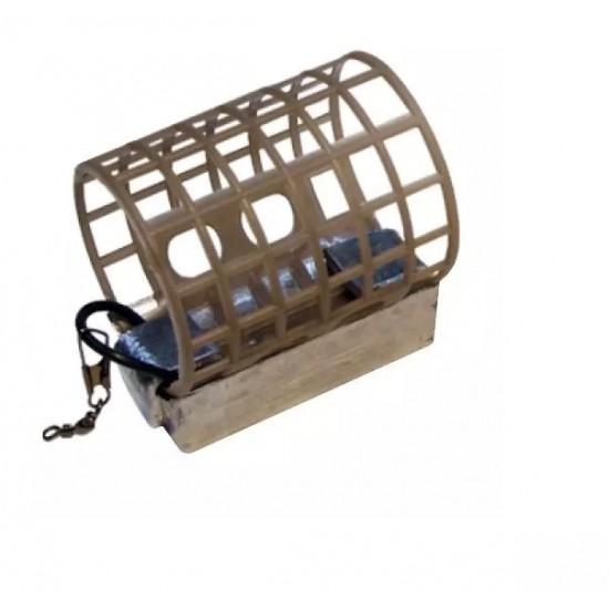 Nisa Big Pigs Plastic Cage Feeder Medium 60g