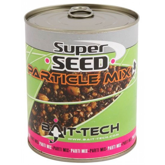 Bait-Tech Canned Superseed Particle Mix 710g