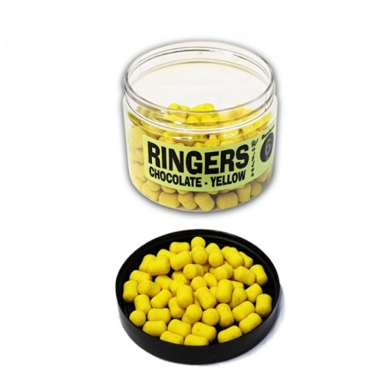 Ringers Chocolate Orange Yellow Bandem 6mm Wafters