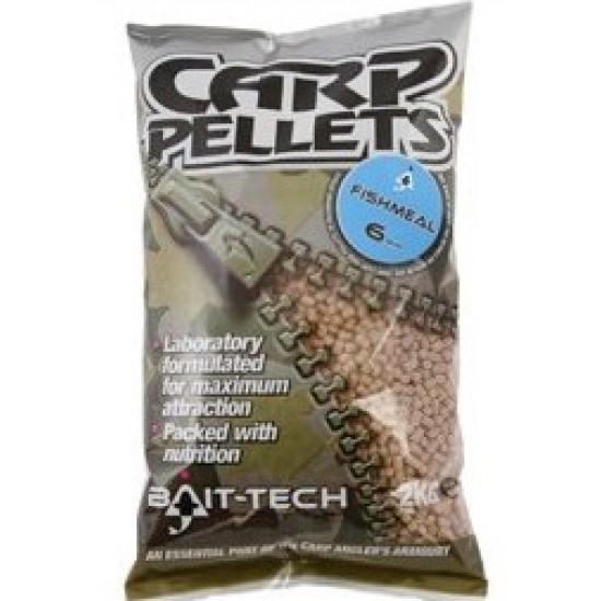 Bait-Tech Fishmeal Carp Feed Pellets 6mm - 2kg