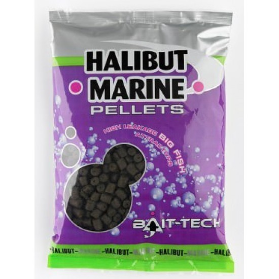 Bait-Tech Halibut Marines 8mm Pre-Gaurite