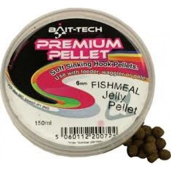 Bait-Tech Prem Jelly Pellet Halibut 6mm