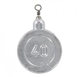 Plumb Moneda Cu Vartej 80g