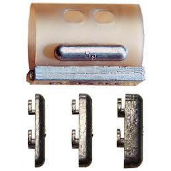 Nisa Clip-on Weights - Plumbi atasabili la cosulete 5g