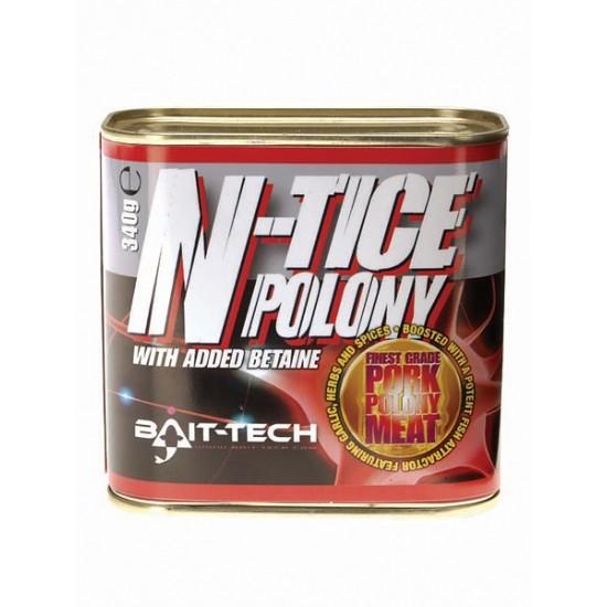 Bait-Tech N-tice Canned Polony Meat  340g