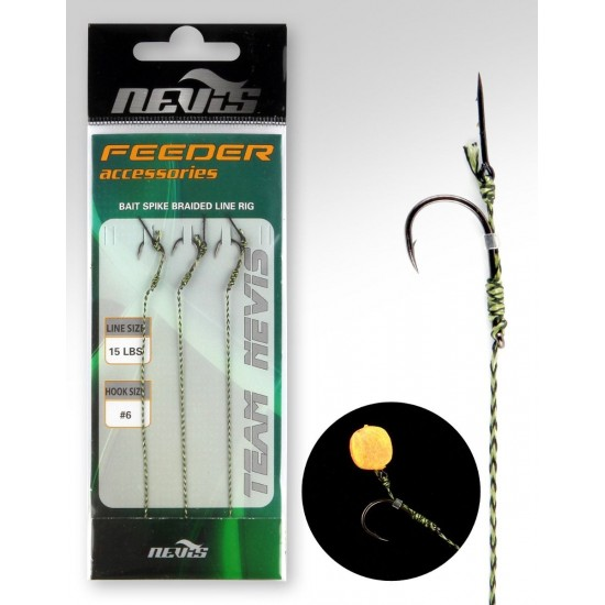 Nevis - Montura method feeder cu bait sting Nr. 6