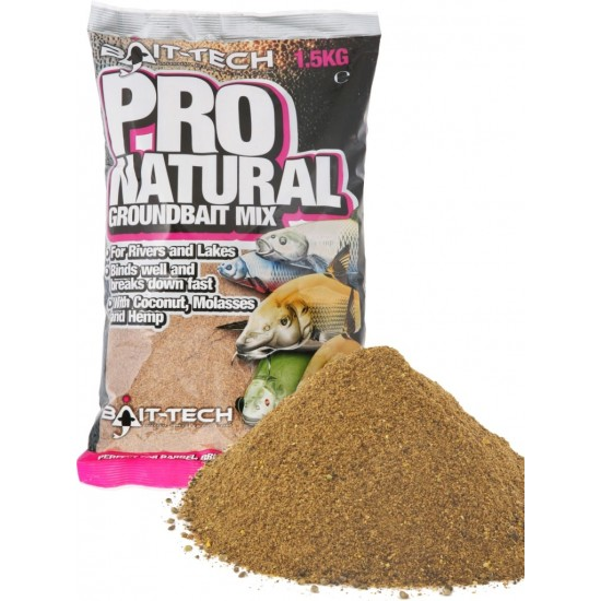 Bait-Tech Pro-Natural Groundbait 1.5kg