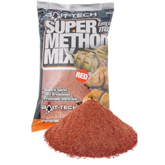 Bait-Tech Super Method Mix Red 1kg