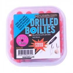 Boilies-uri Gaurite Sonubaits Drilled Boilies Krill 10mm