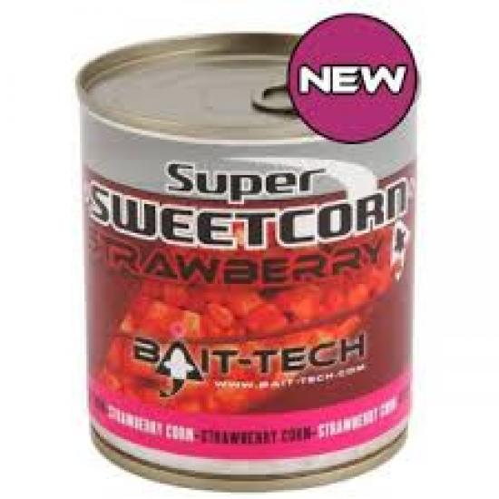 Bait-Tech Super Sweetcorn Strawberry 400g