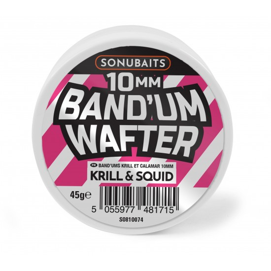 Sonubaits Band`Um Wafters Krill & Squid 10mm