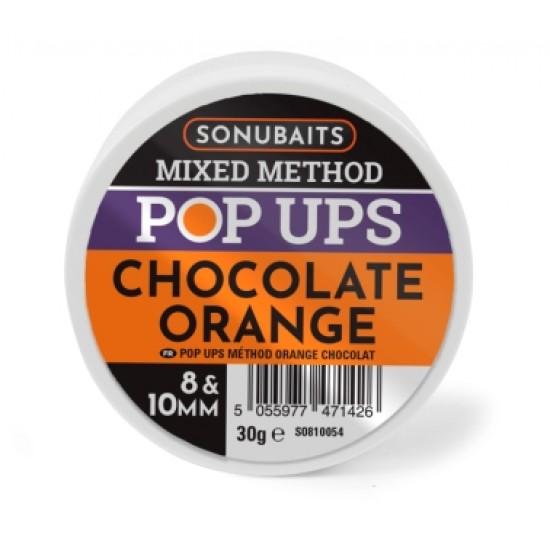Sonubaits Mixed Method Chocolate Orange Pop-Up 8 &10mm