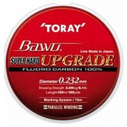 Fir Fluorocarbon TORAY Super Hard BAWO Upgrade 0.300mm -  150m
