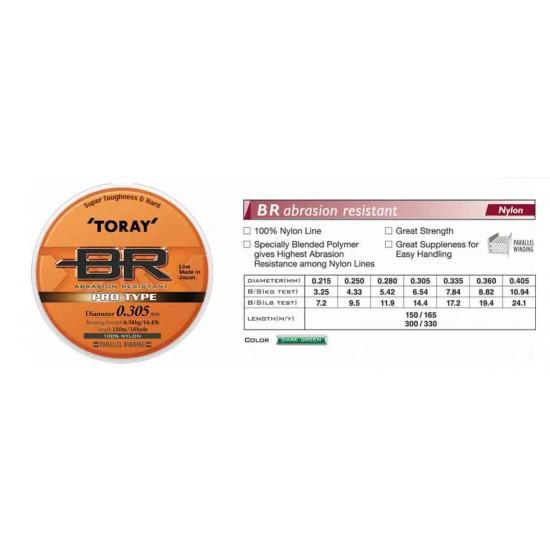 TORAY BR (Bush Runner)  0.215mm - 300M