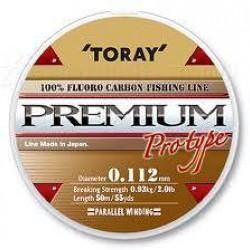 Fir Fluorocarbon TORAY Premium  0.134 mm