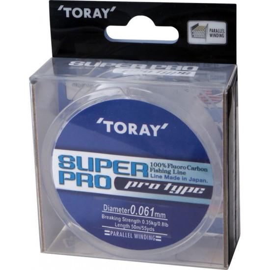 Fir Fluorocarbon TORAY SUPER PRO   0.061 mm