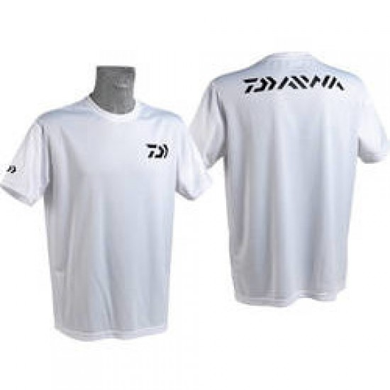 Daiwa - Tricou alb Fast Dry L