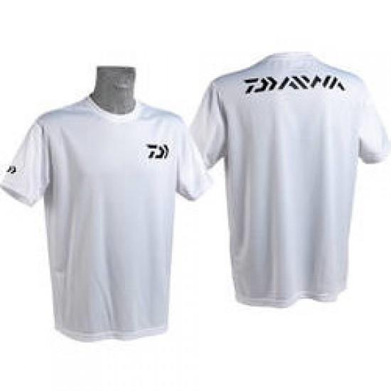 Daiwa - Tricou alb Fast Dry XL