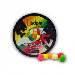 Utopia Baits Fluoro Micro Pop-up Mix 5mm