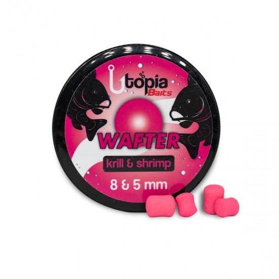 Utopia Baits Krill&Shrimp Wafter 8 & 5mm